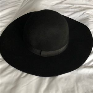 Kittenish Rose Floppy Hat